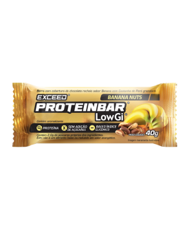 Barra Exceed Protein Low Gi Chocolate Chip Advanced Nutrition - 40gr