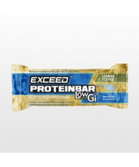 Barra Exceed Protein Low Gi Milk Toffee Advanced Nutrition - 40gr