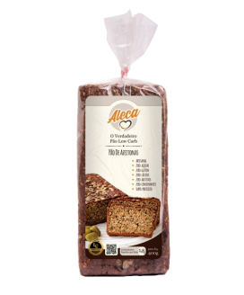 Pão de Azeitonas Aleca Low Carb - 400gr