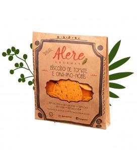 Biscoito de Tomate e Ora-Pro-Nóbis Alere Gourmet - 70gr