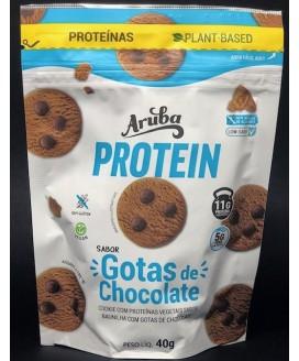 Biscoito Protein Low-Carb Gotas de Chocolate Aruba - 40gr