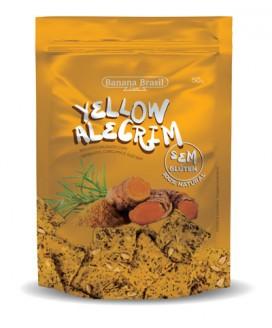 Biscoito Yellow Alecrim Banana Brasil - 50gr