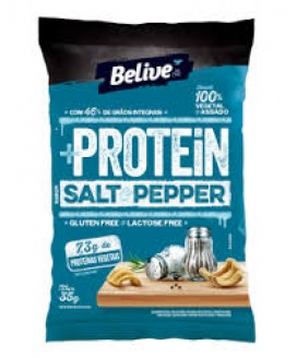 Snack +Protein Salt & Pepper Belive - 35gr