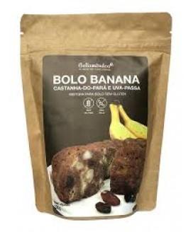 Mistura Bolo Banana Tradicional Bellamêndoa - 170gr