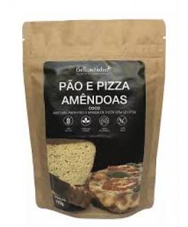 Mistura Pão e Pizza de Amendoa Low Carb Bellamêndoa - 170gr