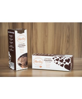 Biscoito Sem Glúten Marilis Doce Sabor Chocolate - 150g