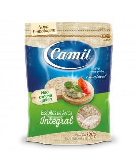 Biscoito de Arroz Integral Camil - 150gr