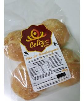 Pão de Hamburguer Celiz Sem Glúten  - 400gr