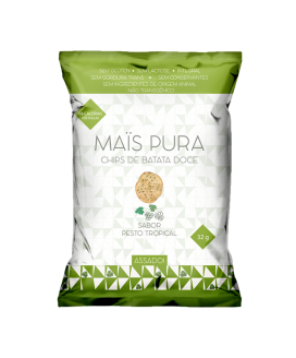 Chip Batata Doce Mais Püra Pesto Tropical - 32gr