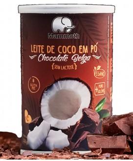 Leite de Coco Chocolate Belga Mammoth - 150gr