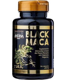 Black Maca Peruana Color Andina Food - 60 Cápsulas