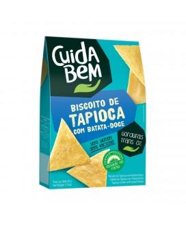 Biscoito Tapioca com Batata Doce Cuida Bem - 50gr