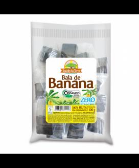Bala de Banana Organica Zero Da Colonia  100gr