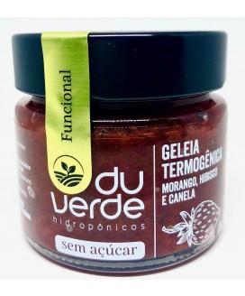 Geléia Morango Termogênica Zero Açúcar Du Verde - 210gr
