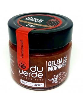Geléia Morango Zero Açúcar Du Verde - 210gr