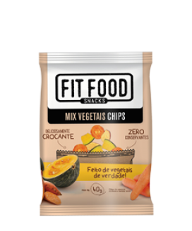 Mix Vegetais Chip Fit Food - 40gr