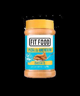 Pasta de Amendoim Crocante Fit Food - 450gr