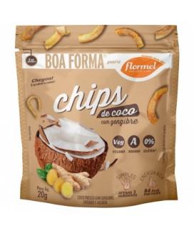 Chip Coco com Gengibre Flormel - 20gr