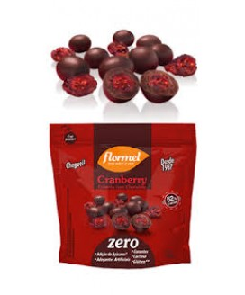 Drageado Cranberry com Chocolate Flormel - 30gr