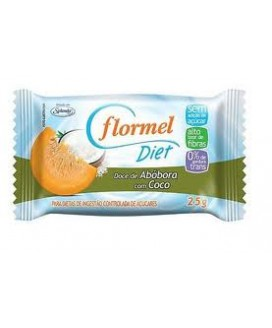 Doce de Abobora com Coco Diet Flormel 25gr