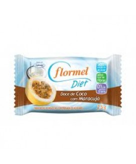 Cocada com Maracujá Diet Flormel 25gr