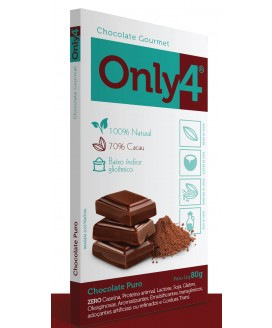 Chocolate Only4 Puro Genevy - 80gr