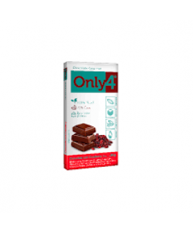 Chocolate Only4 Cranberry Genevy - 80gr