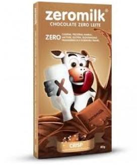Chocolate Zero Milk Crisp - 80gr