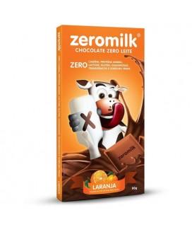 Chocolate Zero Milk Laranja - 80gr