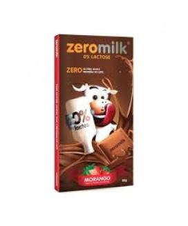 Chocolate Zero Milk Morango - 80gr