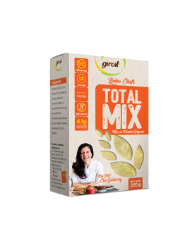 Total Mix de Farinha Salgado Giroil - 250gr