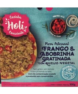 Pizza Holi Cozinha Consciente Frango com Abobrinha - 300gr
