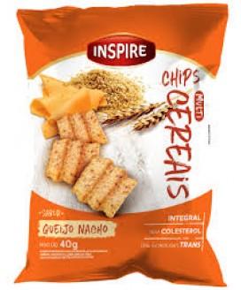 Chip Multicereal Salgado Inspire Alimentos - 40gr