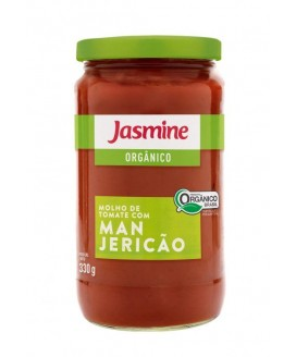 Molho Tomate Manjericão Jasmine - 330gr
