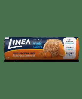 Biscoito Integral Laranja com Cenoura Cereais Línea - 120G