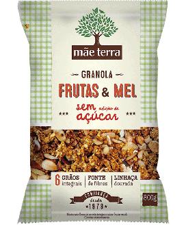 Granola Caseira Sem Açúcar Mãe Terra - 250gr