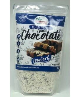 Mistura para Bolo com Chocolate Low Carb Natural Foods - 160gr