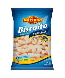 Biscoito Polvilho Nazinha - 100gr