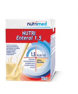Nutri Enteral 1.5 Baunilha Nutrimed - 200ml