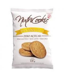 Cookie Cacau Sem Adição de Açúcar Nutripleno - 120gr
