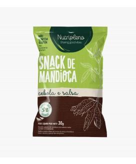 Snack Mandioca Cebola e Salsa Nutripleno - 30gr