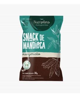 Snack Mandioca Manjericão Nutripleno - 30gr