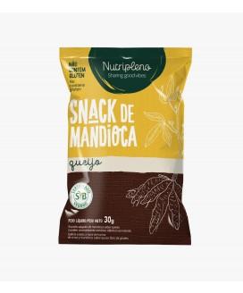 Snack Mandioca Queijo Nutripleno - 30gr