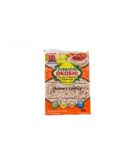 Torrada de Arroz Integral Orgânico com Quinoa e Linhaça Okoshi - 75gr