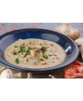 Sopa Creme de Cogumelos Picante Olive Alimentação Low Carb