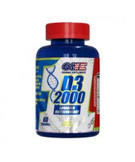 Vitamina D3 2000 One Pharma - 60cp