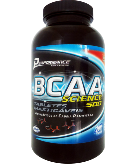BCAA Science 500 Bala Mastigavel Performance Nutrition