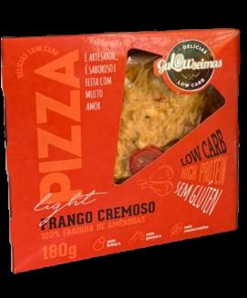 Pizza Low-Carb Frango Cremoso Gulowseimas - 180gr