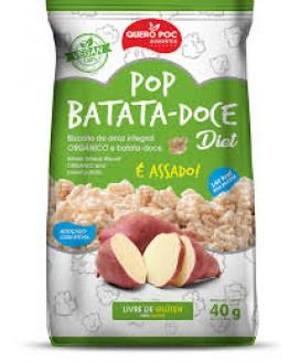 Pop Batata Doce Diet Quero-Poc - 40gr