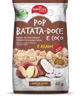 Pop Batata Doce Coco Quero-Poc - 40gr